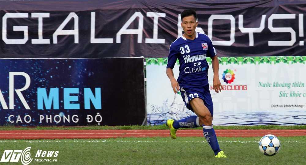 U21 Gia Lai có nòng cốt là các cầu thủ từ đội năng khiếu Gia Lai (Ảnh: Hoàng Tùng)