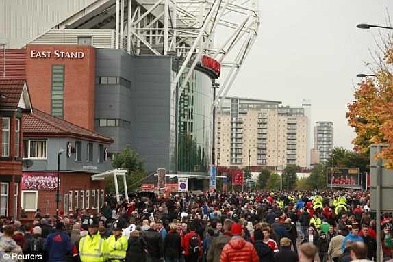 CĐV Man City đến Old Trafford
