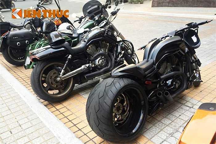 Harley-Davidson V-Rod Muscle được ra đời vào năm 2001, nó được xếp hạng trong phân khúc xe đua trên phố sử dụng động cơ V-Twin (VRSC). Động cơ Revolution trên V-rod là thành quả hợp tác giữa Harley-Davidson và Porsche.