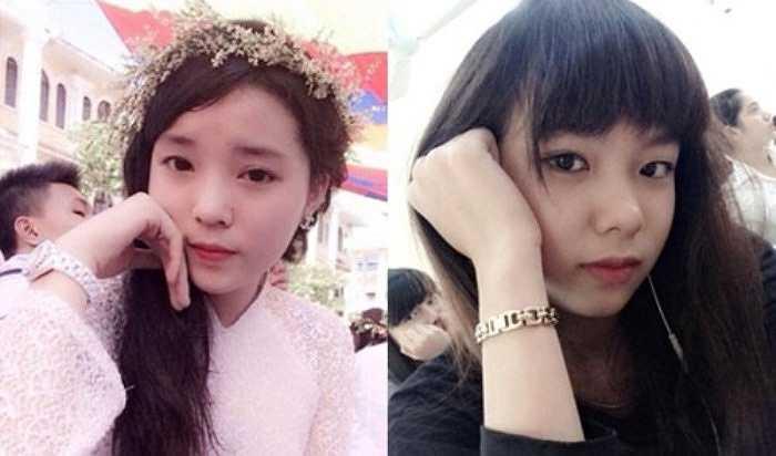 Cô nữ sinh trường Báo Trương Thị Thảo Ly (sinh năm 1995) từng gây sốt cộng đồng mạng thời gian qua vì có khuôn mặt giống Hoa hậu Kỳ Duyên.