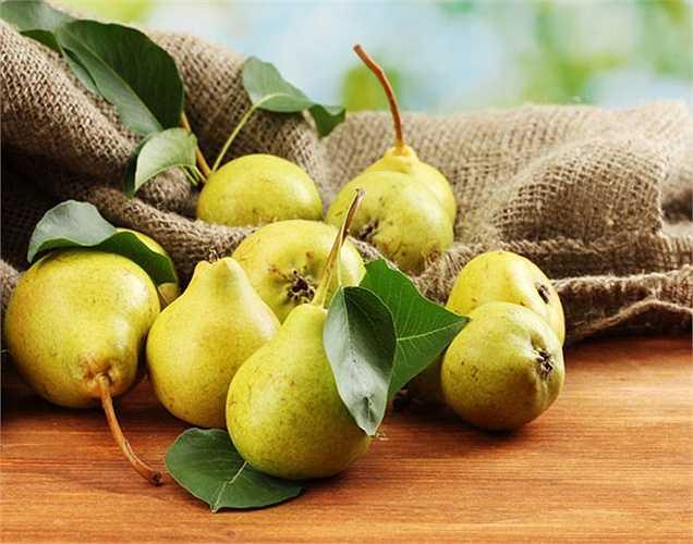Quả lê giúp hạ huyết áp, giúp thư giãn huyết áp của bạn và cũng giữ cho túi mật của bạn khỏe mạnh.