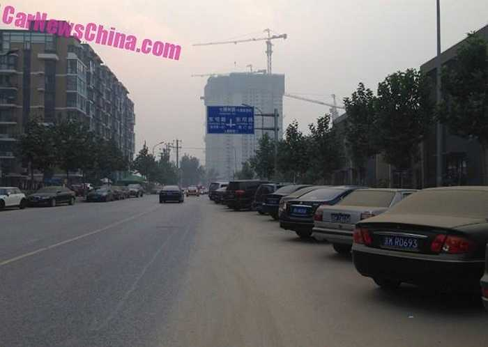Nhưng đây là sự thật ở những khu vực lân cận công trình đang xây dựng ở thủ đô Bắc Kinh (Trung Quốc).