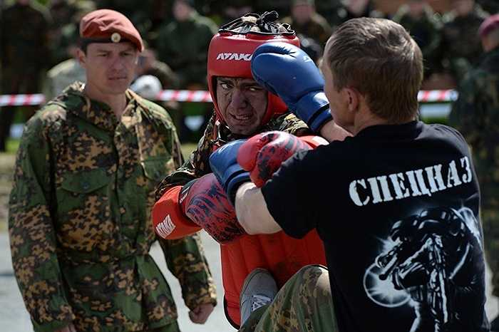 Những trận đấu đối kháng giữa các binh sỹ