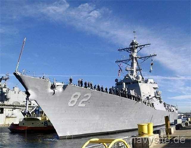 Một quan chức Hải quân Mỹ cho biết, việc tuần tra có thể tiếp diễn trong vài tuần tới