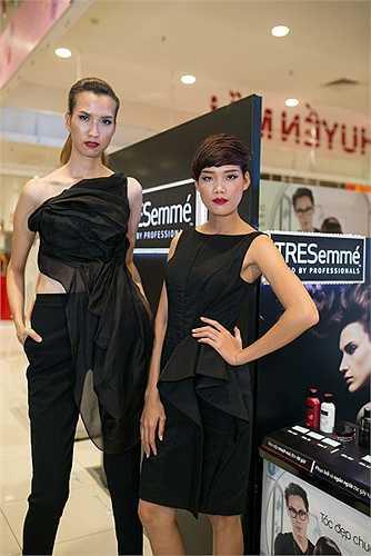 Trong chương trình, Hương Ly có dịp gặp lại hai người mẫu trong top 4 là Hồng Xuân và Nguyễn Hợp.