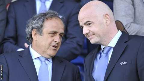 Chủ tịch và Tổng thư ký UEFA cùng tranh cử chức Chủ tịch FIFA lần này