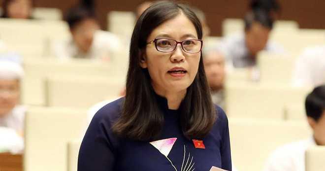 Phó Chủ nhiệm Ủy ban tư pháp của Quốc hội Lê Thị Nga (Ảnh: TTX).
