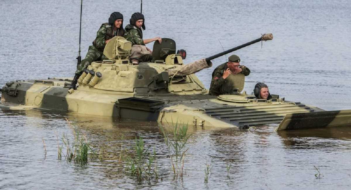 Thiết bị quân sự hiện đại của Nga
