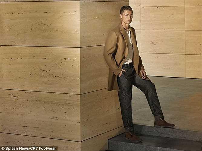 Luôn đi đầu trong các xu hướng thời trang, Ronaldo dự định sẽ trở thành một nhà kinh doanh sau khi chia tay sự nghiệp cầu thủ