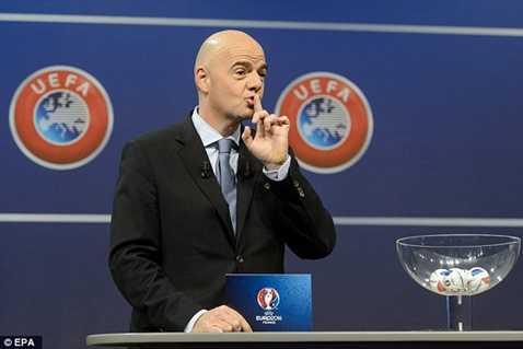 Tổng thư ký UEFA Gianni Infantino
