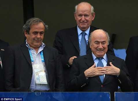 Chủ tịch UEFA Michel Platini