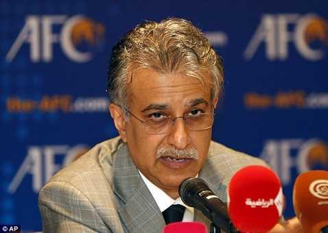 Chủ tịch AFC Sheik Salman
