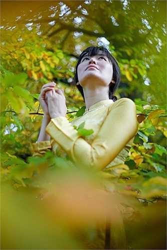 Cảm giác về đổi mùa rõ rệt theo từng đợt lá rụng.