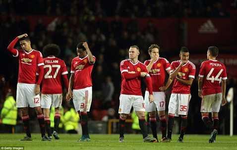 MU bị thua đau đớn trước đội hạng dưới Middlesbrough