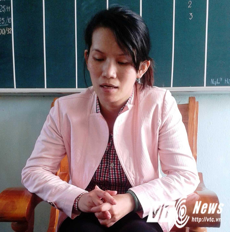 Cô giáo Phạm Thị Thanh Thảo thừa nhận hành vi đánh học sinh.