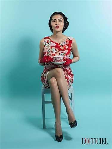 Hiện tại, ngọc nữ điện ảnh Việt rất hạnh phúc với cuộc hôn nhân bênông xã giàu có Louis Nguyễn cùng cậu con trai đầu lòng