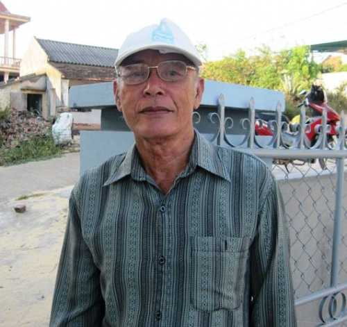 """Ông Trương Phương Xa, kể chuyện về """"Âm hồn tự"""" và nghĩa trang oan hồn"""