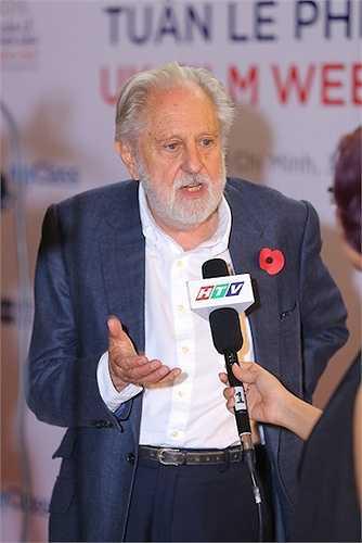 Buổi hội thảo được chủ trì bởi Huân tước David Puttnam, Đặc Phái viên Thương mại của Thủ Tướng Anh tại Việt Nam, Lào, Campuchia và Miến Điện đồng thời là một nhà sản xuất phim đã từng giành được 10 giải Oscars, 25 giải BAFTA và giải Cành cọ Vàng tại liên hoan phim Cannes. Ông cũng từng là CEO của Columbia Pictures và là Phó chủ tịch của Viện Hàn lâm Điện ảnh và Truyền hình Vương quốc Anh (BAFTA).
