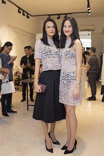 Người mẫu Thanh Thảo và BTV Thanh Trúc
