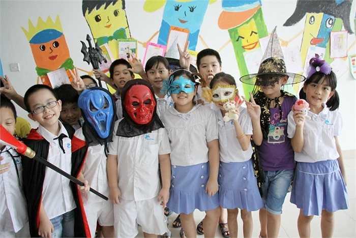 Các bạn học sinh Ban Mai đã có một ngày hội Halloween thực sự ấn tượng và tràn ngập niềm vui.