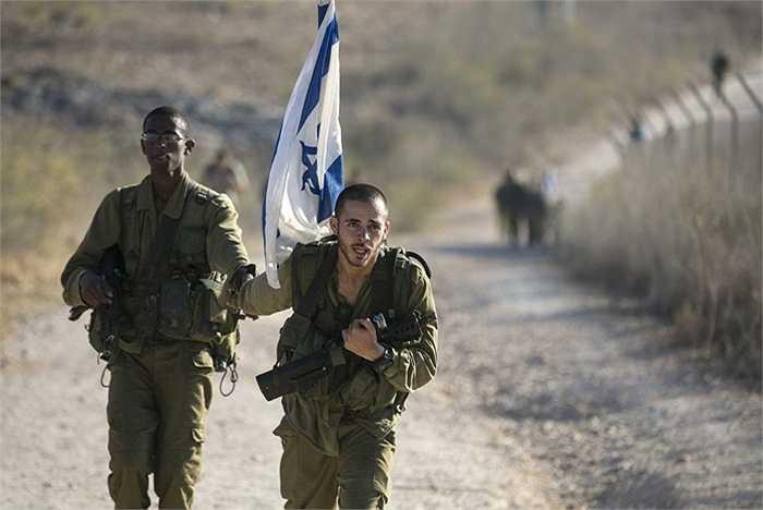 Lính Israel phải hoàn thành quãng đường dài 43 dặm trong những lần luyện tập