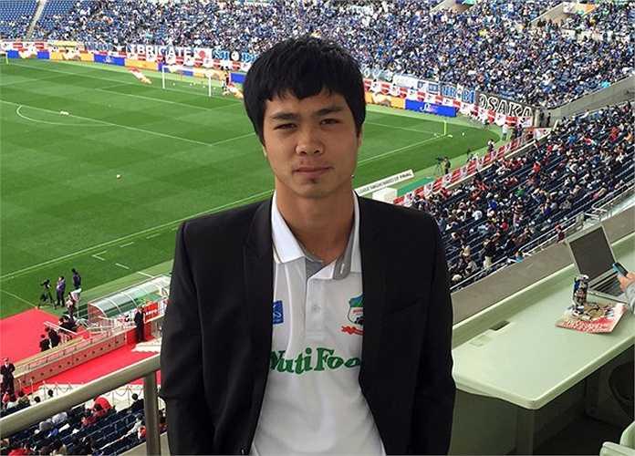 Đây là trận đấy giữa Kashima Antlers và Gamba Osaka. Sau trận đấu, Công Phượng đã có cuộc trả lời phỏng vấn nhanh của truyền thông Nhật Bản.
