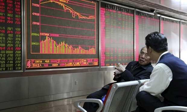 Giá cổ phiếu của China Child Care, công ty sản xuất các sản phẩm chăm sóc da và tóc cho trẻ em, tăng hơn 40% tại thị trường Hong Kong trong phiên cuối tuần qua. Ảnh: Reuters.