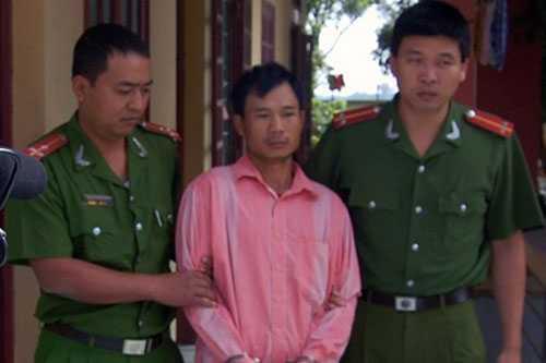 Hung thủ bị cơ quan Công an bắt giữ