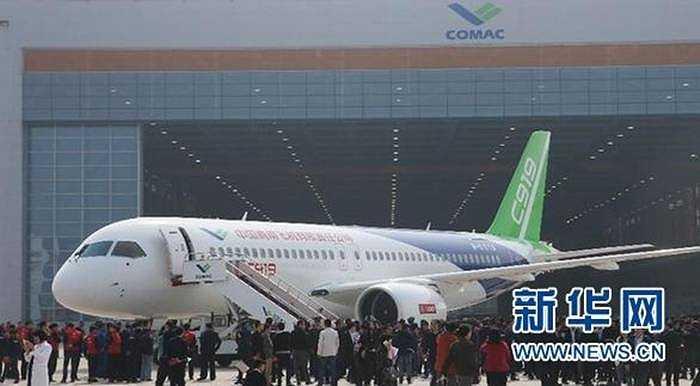 Máy bay C919 sẽ được đưa ra thị trường từ năm 2016. Máy bay này bắt đầu được chế tạo và sản xuất từ năm 2008