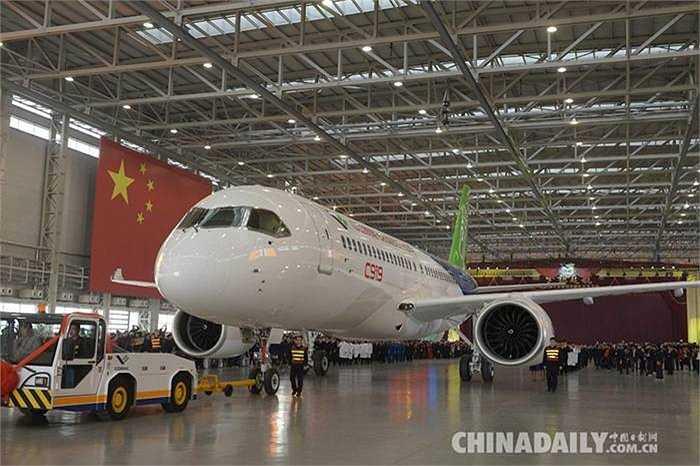 Hiện này đã có hàng chục khách hàng đặt mua máy bay C919 của Trung Quốc sản xuất với số lượng hơn 500 chiếc