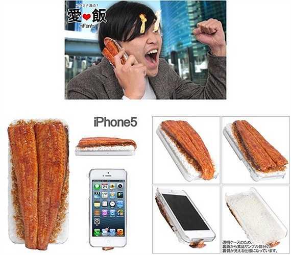 Hay phủ món Unagi lên iPhone 5 một cách khác lạ.