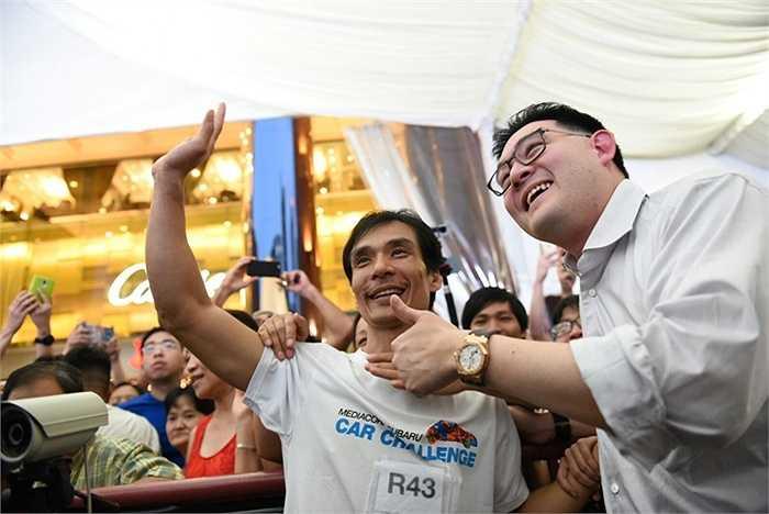 Sau 77 tiếng 58 phút, tức 3 ngày 3 đêm lẻ 6 tiếng, anh Nguyễn Phước Huynh giành giải nhất của cuộc thi năm nay là một chiếc Subaru XV 1.6 (trị giá 115.000 đô-la Singapore, SGD), cộng với 5.000 SGD tiền nhiên liệu do Shell tài trợ.