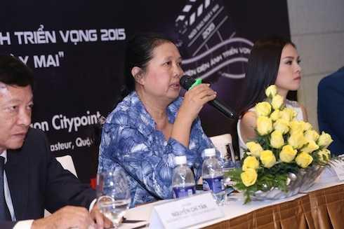 Bà Dương Cẩm Thuý, Chủ tịch Hội điện ảnh TP.HCM.