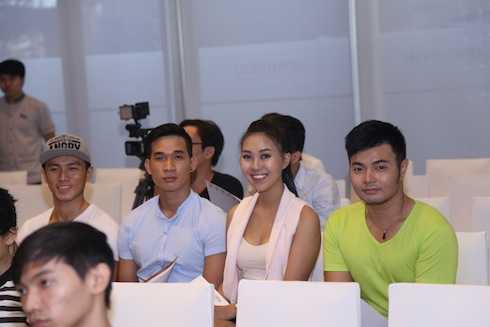 Một số thí sinh tham gia cuộc thi năm nay. 1