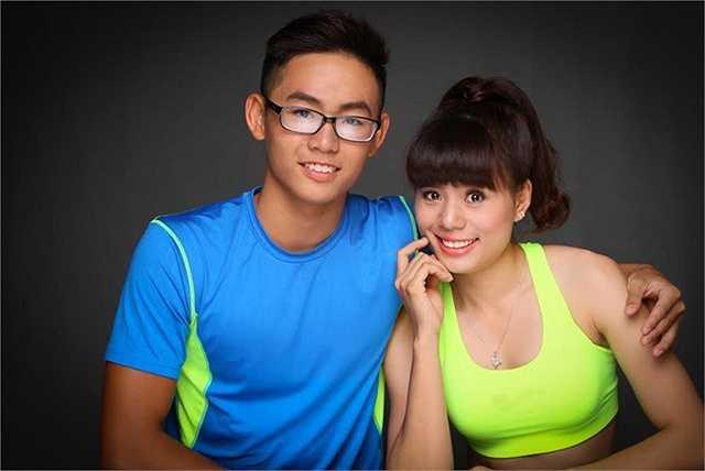 Đều là rất thành công trong lĩnh vực thể thao song cả Lâm Quang Nhật và Nguyễn Thị Huyền đều là những người lần đầu tiên cùng tạo dáng chụp một bộ hình chung trong studio.