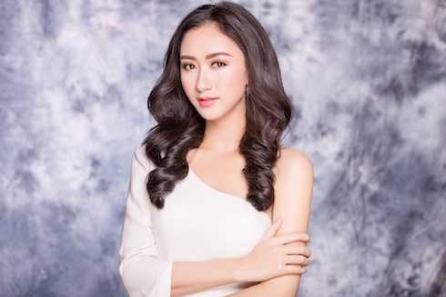 Lê Thị Hà Thu từng giành ngôi Á hậu 1 Hoa hậu Đại dương 2014.