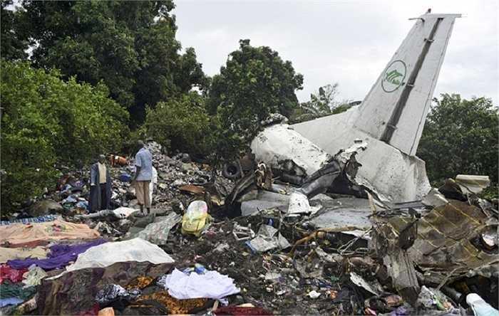 Chiếc máy bay gặp nạn ở gần sông White Nile, cách sân bay Juba 800m khiến 41 người thiệt mạng