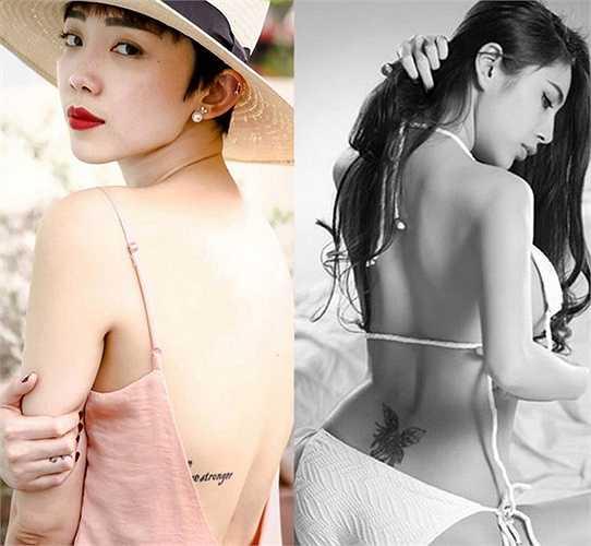 Hai người đẹp sở hữu thân hình hoàn hảo khiến người khác phải ghen tỵ.
