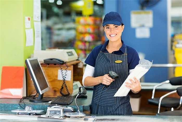 Nhân viên thu ngân. Các máy bán hàng tự động hay Apple Pay, Samsung Pay ... khiến cho sự cần thiết của một người thu ngân không còn quá rõ ràng như trước.