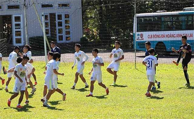 Dự kiến vào 17/11, U21 HAGL sẽ có mặt tại TP.HCM để chuẩn bị cho trận đấu khai mạc.