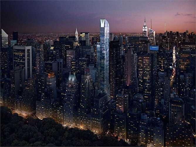 One57 là tòa nhà có giá bán đắt nhất ở thành phố New York xa hoa và hứa hẹn sẽ là một điểm đến lý tưởng cho các đại gia