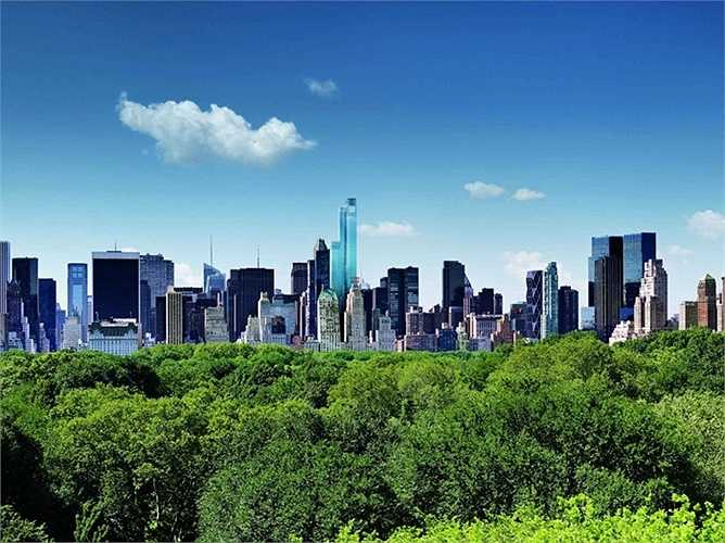 Căn penthouse độc quyền của tòa nhà được bán với giá 100 triệu USD hồi tháng 1/2015