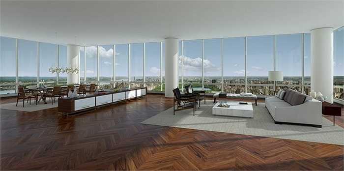 3.000m2 là diện tích của căn penthouse này - đủ diện tích để chủ nhân có thể thoải mái vui vẻ bạn bè