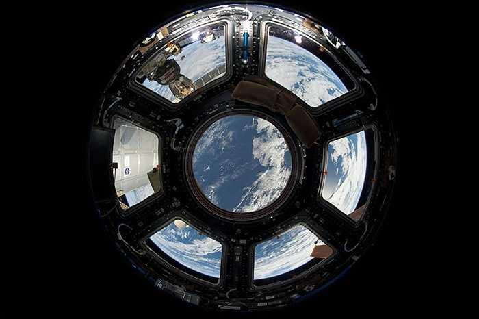 Khu vực nhìn xuống Trái đất của trạm ISS