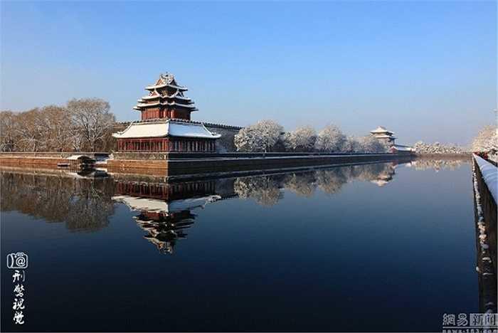 Đợt tuyết đầu mùa khiến nhiều người dân Bắc Kinh thích thú
