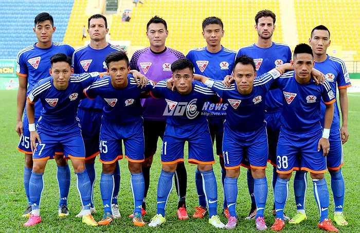 Đội hình xuất phát của Than Quảng Ninh ở trận đấu đầu tiên tại BTV Cup