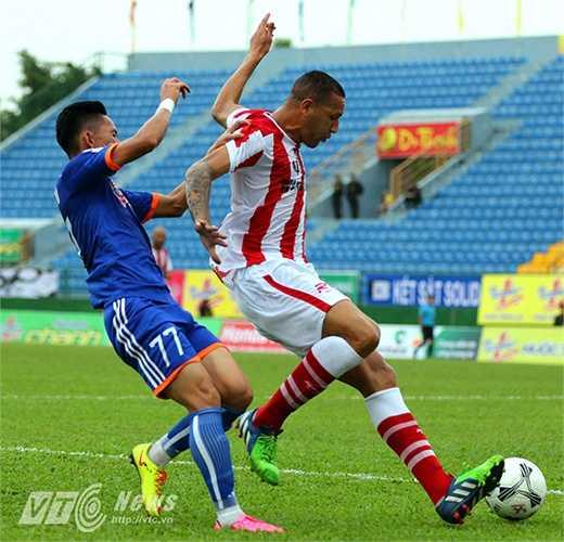 Đội bóng đến từ xứ sở Samba mất đúng 37 phút để ghi 3 bàn thắng.