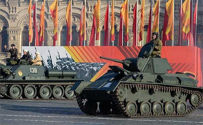Xe tăng hạng nhẹ T-70 của Liên Xô trong Thế chiến II