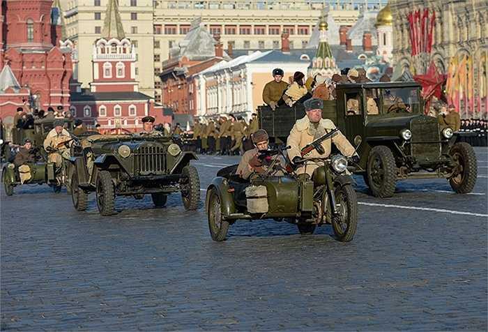 Những chiếc sidecar gắn liền với Thế chiến II