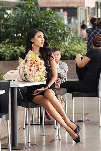 Là gương mặt đại diện cho những người mẫu Việt sẽ tham dự trình diễn trong Lynk fashion show  2015, với bộ sưu tập haute couture của Nhà thiết kế Alexis Mabille, Lan Khuê rất háo hức để được gặp Nhà thiết kế.